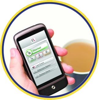 App-gesteuerte Alarmanlage Smarthome